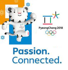 PyeongChang 2018 Passion Connected.